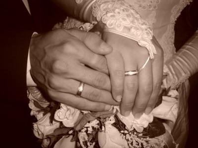svadobné obrúčky z bieleho zlata